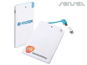 Ultraflache Power Banks (2200mAh)