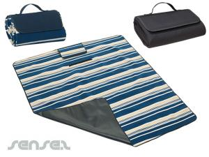 Striped Foldable Picnic Rugs