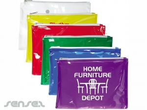 Colour PVC Pencil Pouches