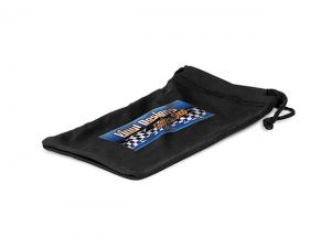 Black Microfibre Pouches