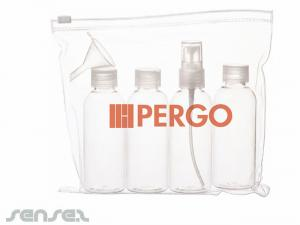Clear Bag & Bottles Kits