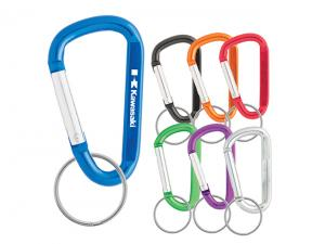 Carabiner Keyrings (70mm)