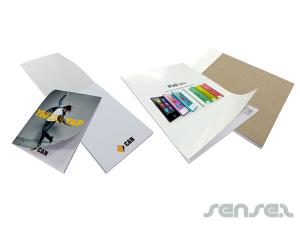 Custom Notepads with Glossy Cover (A4)