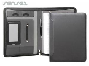 Executive Tech Compendium w/Zipper (A4)