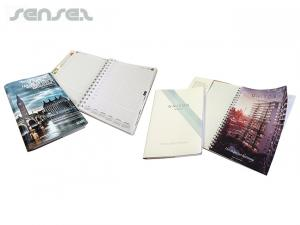 A5 recyceltem Leder Sleeves und Notebooks
