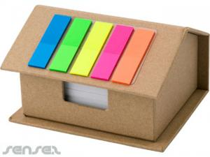 House Shaped Sticky Note & Flag Sets