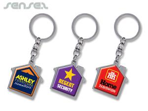 Keyrings Haus Chrome