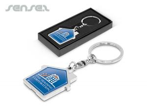 Keyrings House Chrome