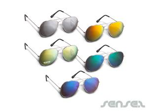Colorful Lens Aviator Sunglasses