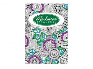 Relaxing Colouring Books (A4)