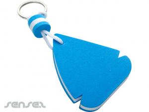 Sail Ship Shaped Floating Key Chains