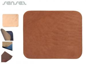 Logo Leather Mouse Mats