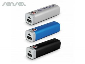 Scarborough Power Banks (2600mAh)