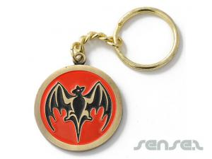 Enamel Metal Keyrings