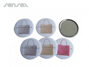 Tin Button Pocket Mirrors