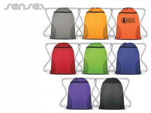 Drawstring Backpacks with Zipper