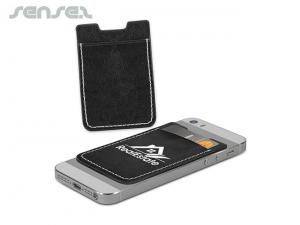 PU Leather Phone Card Holders