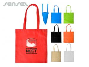 Non-Woven V-Shaped Shopping Bags