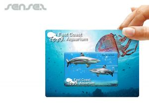Credit Card Flash Drives On Cards (4GB)