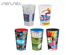Full Colour Cups 500ml