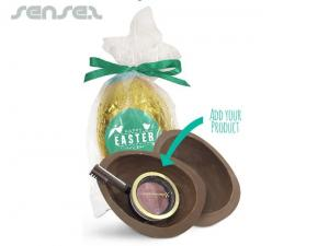 Branded easter eggs logo easter bunnies sense 2 promotional products gift giving easter eggs negle Image collections