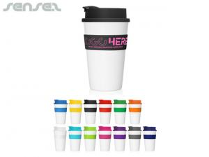Palm Flip Top Takeaway Cups 475ml