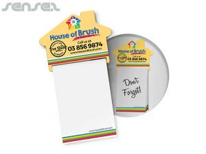 House Shaped Magnetic Notepads (A7)