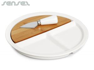 Round Bamboo Cheese Sets