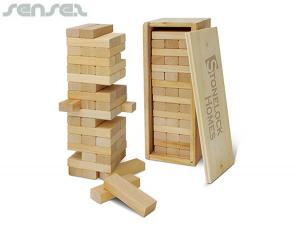 Wooden Tetris Towers