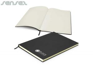 Amaya Unlined Leatherette Notebooks (A4)