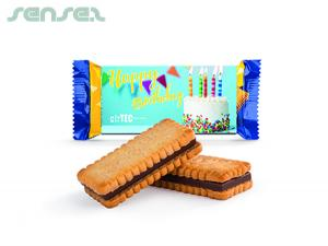 Mini Biscuits With Chocolate (10g)