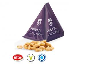 Custom Printed Pyramids Filled With Peanuts (15g)