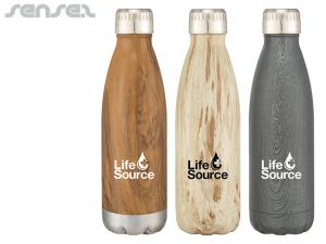 Thermo Wood Look Bottles (500ml)