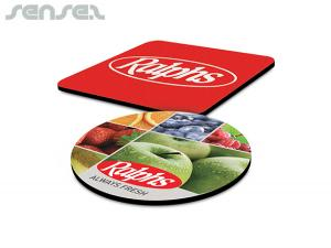 Flexible Mouse Mats With Rubber Base