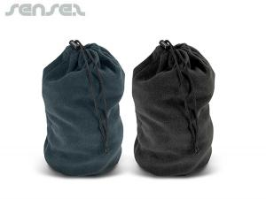 Soft Tubular Drawstring Bags