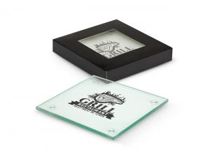 Clarity Glass Coaster Sets (Set of 4)