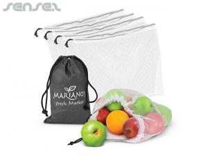 Angel Set 5 x Mesh Produce Bags