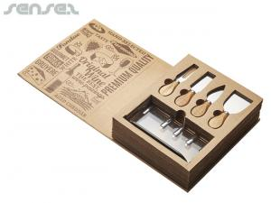 Du Jour Cheese And Knife Sets