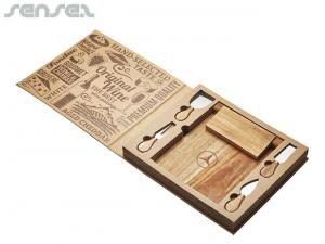 McCurio Cheese Board & Knife Sets