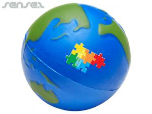 Planet Earth Stress Balls