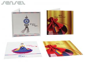 Microfiber Towels in Greeting Cards