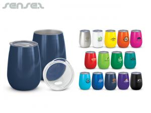Ovoid Thermo Tumbler Cups (300ml)