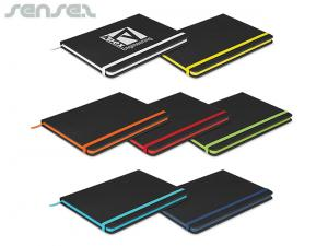 Neoskin Black A5 Notebooks