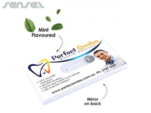 Favor Dental Floss Business Cards