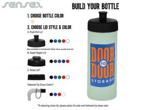 Glow In The Dark Water Bottles 500ml