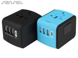 International Travel Adapters With USB Ports