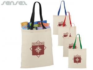 Sahara Cotton Canvas Tote Bags