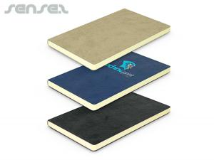 Pierre Cardin Soft Suede Notebooks A6 (Medium)