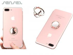 Mirror Mobile Phone Ring Holders