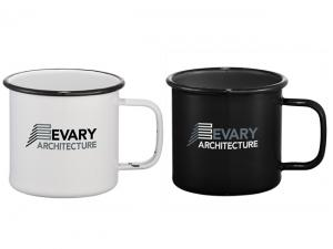 Enamel Metal Mugs (470ml)